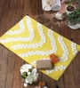 Angelino Bath Mat in Yellow by Casacraft
