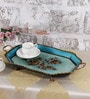 Rural Craft Multicolour Iron Hand painted Tray