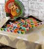 Rural Craft Multicolour MDF Hand painted Trays