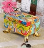 Rural Craft Multicolour MDF Jewellery Box with Feet