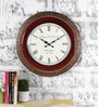 Multicolour Metal & MDF 17.5 Inch Round Blissful Wall Clock by Rural Craft
