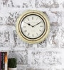 Multicolour Metal & MDF 11.5 Inch Round The Old School Wall Clock by Rural Craft