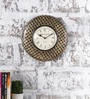 Rural Craft Multicolour Metal & MDF 11.5 Inch Round The Rattle Snake Wall Clock