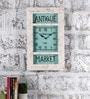 Multicolour Metal & MDF The Vintage Wall Clock by Rural Craft