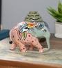 Rural Craft Multicolour Polyresin Showpiece