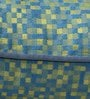 Blue & Yellow Polyester 16 x 16 Inch Cushion Cover with Piping by S9home by Seasons
