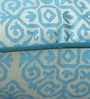 Blue Polyester 16 x 16 Inch Traditional Cushion Cover with Piping by S9home by Seasons