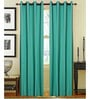 S9home by Seasons Blue Window Curtains Polyester (Set of 2)