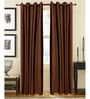 Brown Door Curtains Polyester (Set of 2) by S9home by Seasons