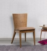 Salucar Dining Chair (Set of 2) in Cocoa and Brown Finish