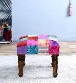 Sanaka Stool with Patchwork