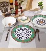 Virasat Collection Bone China Dinner Set - Set of 27