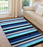 Multicolour Microfiber 72 x 48 Inch Very Soft Anti Slip Tufted Area Rug