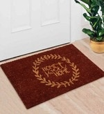 Brown Coir 24 x 16 Inch Premium Quality Crown Door Mat