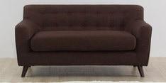 San Bruno Two Seater Sofa in Dark Brown Colour