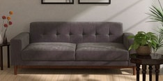 San Dimas Three Seater Sofa in Biscotti Colour