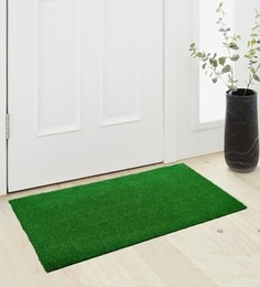Saral Home Green Coir 36 X 18 Inch Premium Quality Heavy Duty Door Mat - 1600001