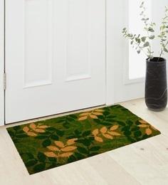 Saral Home Green Coir 36 X 18 Inch Premium Quality Heavy Duty Door Mat