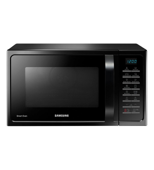 28 Liter Microwave Oven: Buy Samsung MC28H5025VK Black Convection Microwave Oven
