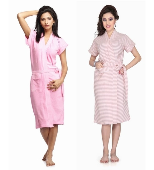 9ae98e7894 WE ARE SORRY BUT THIS ITEM IS OUT OF STOCK. We Have Put Together These  Similar Items For You. Have A Look. Sand Dune Light Pink Cotton Bath Robe  ...