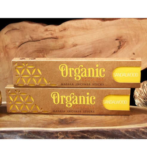 Sandalwood Organic Incense Sticks By Song Of India