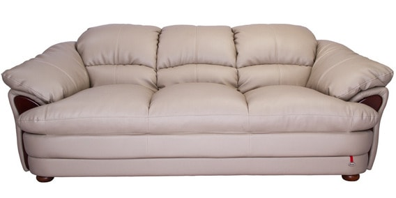 Salina Three Seater Sofa In Beige Colour By Durian By Durian Online