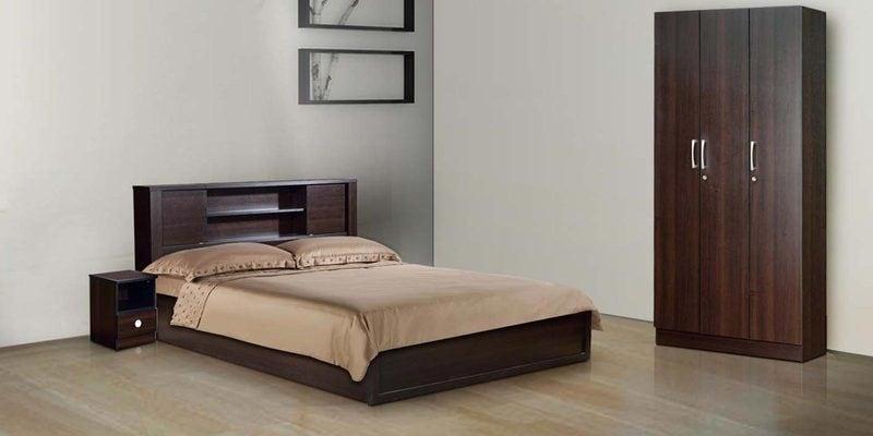 Saburo Bedroom Set Queen Size Bed, Bed & Room Porter Queen Portrait Wall Bed With Desk