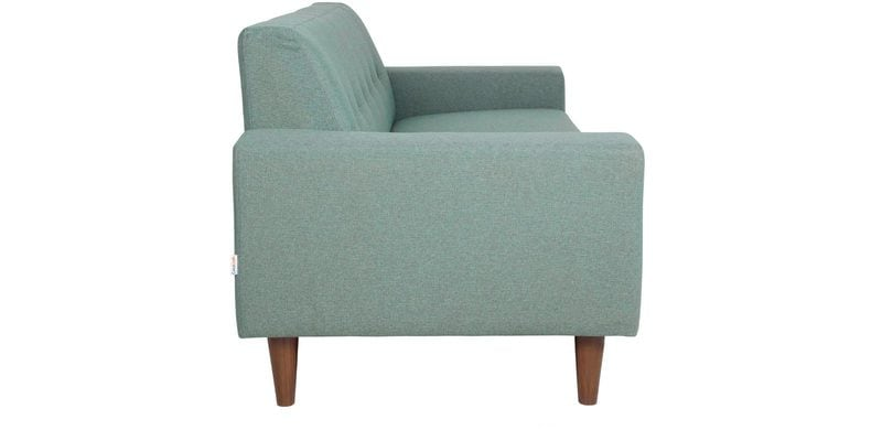 Buy San Dimas Three Seater Sofa In Dark Olive Green Colour By CasaCraft Online
