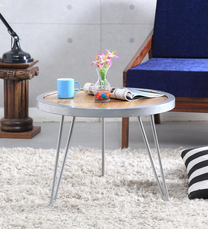 Jericho Coffee Table in Natural Finish by Bohemiana