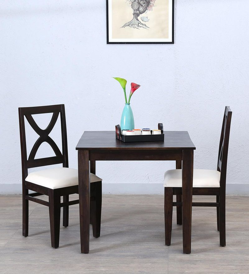 Santa Fe Two Seater Dining Set in Warm Chestnut Finish by Woodsworth