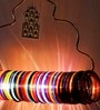 Jaipur Choori Multicolour Lamp by Sahil Sarthak Designs