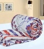 White Paisley Single Comforter by Salona Bichona