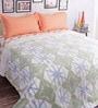 Salona Bichona Blue 100% Cotton Queen Size Blanket