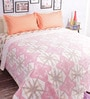 Salona Bichona Pink 100% Cotton Queen Size Blanket