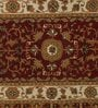 Samara Carpets Red Wool & Cotton Carpet