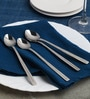 Sanjeev Kapoor Sleek Stainless Steel Soda Spoon - Set of 6