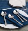 Sanjeev Kapoor Willow Stainless Steel Dessert Soup Spoon - Set Of 6