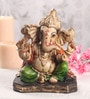Sanskruti Multicolour Polyresin Aashirwad Ganesh Idol