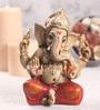 Sanskruti Multicolour Polyresin Small Aashirwad Ganesh Statue