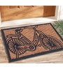 Beige Coir 24 x 16 Inch Panama Outdoor Heavy Duty Mat by Saral Home