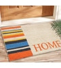 Multicolour Coir 24 x 16 Inch Outdoor Heavy Duty Mat by Saral Home