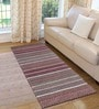 Multicolour Cotton 72 x 28 Inch Premium Quality Multi Purpose Rug - Set of 2 by Saral Home
