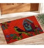 Orange Coir 24 x 17 Inch Outdoor Heavy Duty Mat by Saral Home