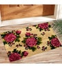 Pink Coir 24 x 18 Inch Outdoor Heavy Duty Mat by Saral Home