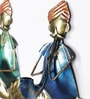 Multicolour Metal Wall Hanging - Set of 3 by Satyam International