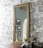Multicolour Solid Wood Brass Fitted Framed Mirror by Satyam International