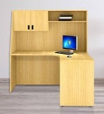 Scholar Study Table - XII in Urban Teak Finish