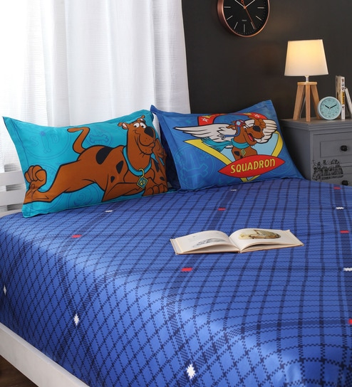 Scooby Doo King Bedsheet By Portico New York
