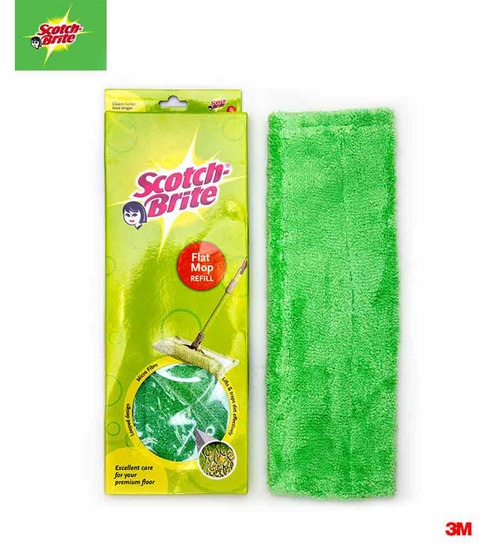 Buy Scotch-Brite Flat Mop Refill Online - Wipes - Housekeeping - Home Utilities - Pepperfry Product