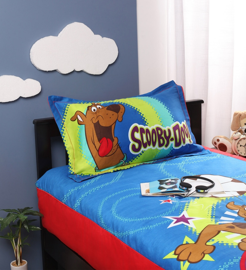 Scooby-Doo King Bedsheet by Portico New York